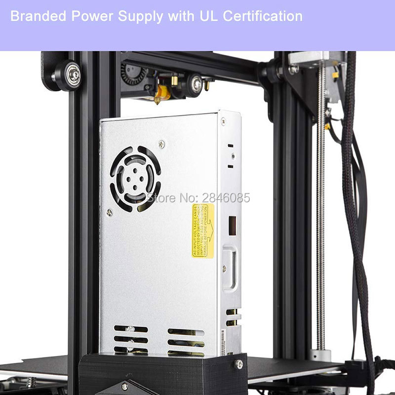 Image 5 - CREALITY 3D Ender 3 Pro Printer Printing Masks Magnetic Build Plate Resume Power Failure Printing DIY KIT MeanWell Power Supply3D Printers   -