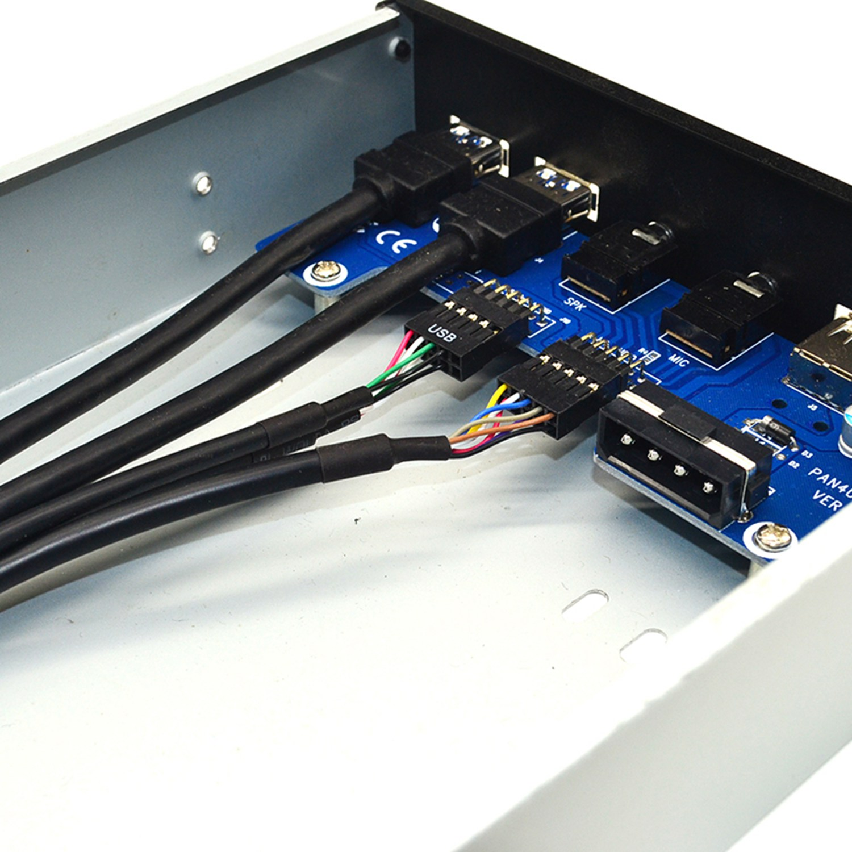 front case panel usb 3.0+usb 3.0+hd audio jack ports i//o board+internal wire SN