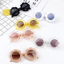 5eea173e14 2019 nuevo bebé niños gafas de sol de girasol juguetes novedosos niños  niñas sombras bebé ANTI