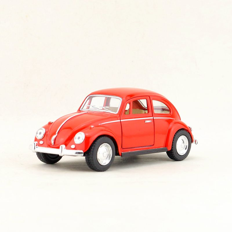 "Kinsmart 1967 Volkswagen VW Classical Beetle 1:32 scale 5/"" diecast RED"