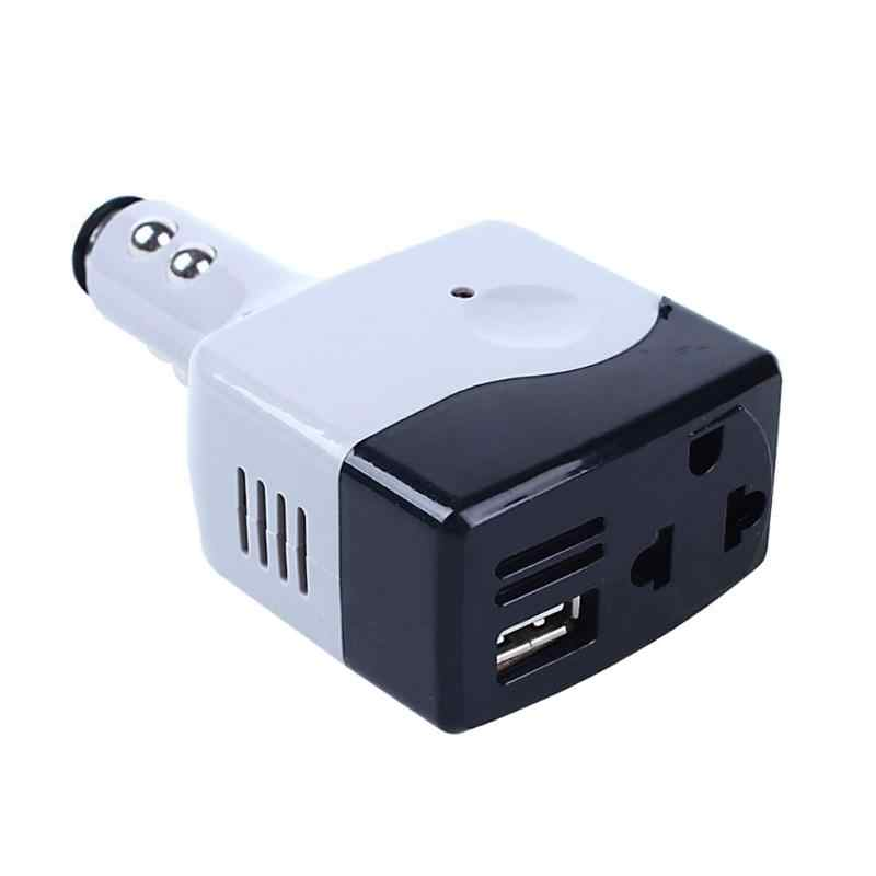 Car DC 12-24V to AC 220V Voltage Power Inverter Converter USB Charger Auto Car Voltage Inverters Car Electronics Accessories