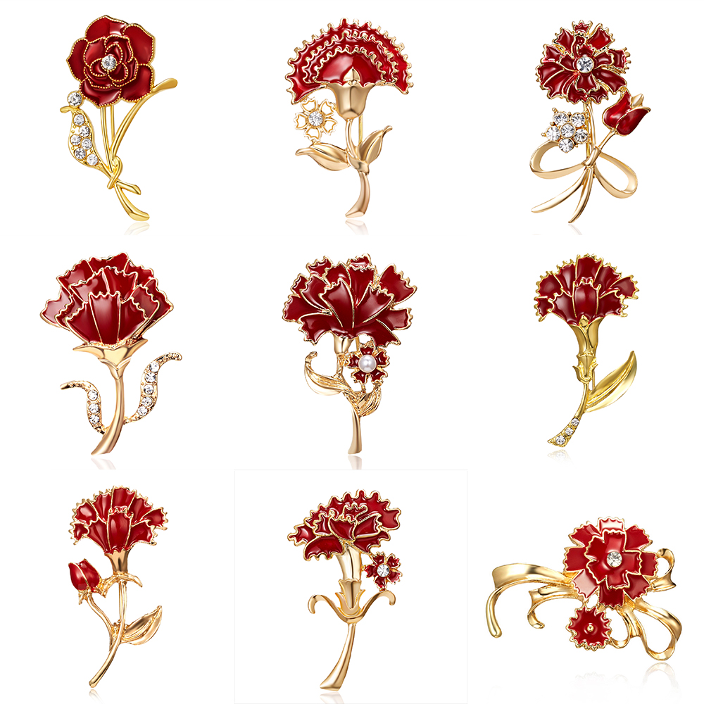 Брошь с искусственным жемчугом и цветком персика брокколи бамбук Одуванчик ванильный цветок оранжевый цветок винтажная зеленая брошь