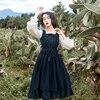 חדש בציר נשים שמלת 8153 צרפתית שמלות כהה ירוק 5153