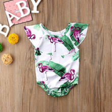 Newest Toddler Baby Girls Floral Tankini Swimwear Swimsuit Bikini Bathing Suit(China)