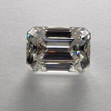 10*12mm Emerald Cut 6.04 carat VVS Moissanite Super White Loose Diamond for Wedding Ring