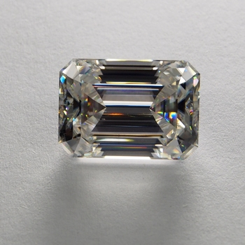 6db1998bb6f4 Moissanitas anillo sólido 14 K oro rosa 2