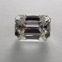 13*16mm Emerald Cut 14 carat VVS Super White Loose Moissanite Diamond