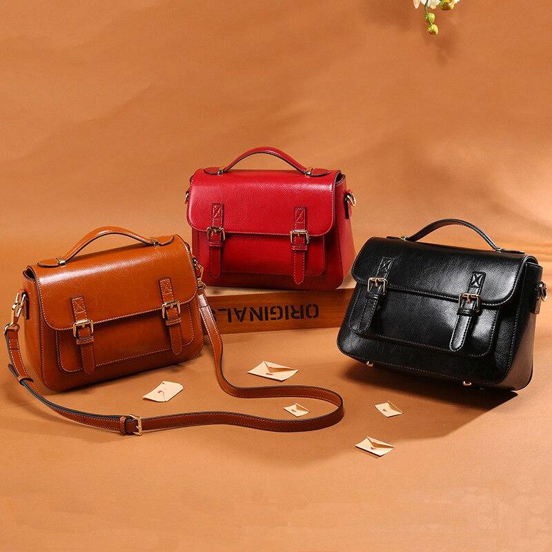 Luxus Handtaschen Frauen Taschen Designer Echtem Leder Handtaschen Frauen Schulter Taschen Kleine Totes Crossbody tasche Weibliche Messenger Taschen-in Schultertaschen aus Gepäck & Taschen bei  Gruppe 3