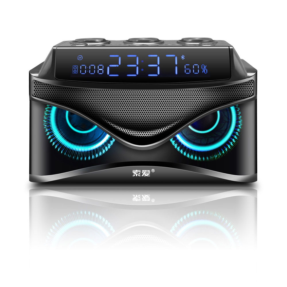 Party Bluetooth speaker Portable Wireless Loudspeaker 25W stereo Music surround Outdoor Speaker sound box Bass TF Card Radio in Portable Speakers from Consumer Electronics