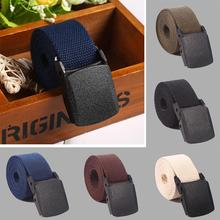 Adjustable Men Belt Military Nylon Belt Men Waist Belt Autom