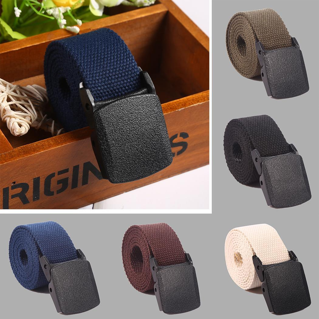 Adjustable Men   Belt   Military Nylon   Belt   Men Waist   Belt   Automatic Buckle Cummerbunds Para Hombre 5 Colors Drop Shipping