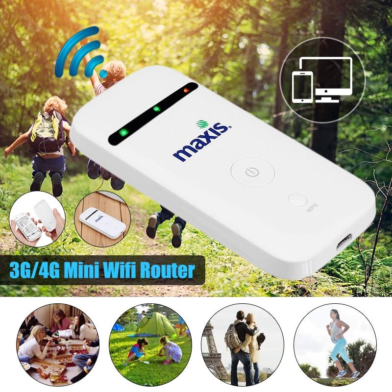 Portable 3G/4G Mobile WiFi MIFI Wireless Pockets Hotspot Router Broadband Unlockeds unlocked verizon jetpack mifi ac791l 4g lte mobile broadband hotspot router new