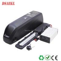 Nova bateria ebike 500W 750W 1000W 48 hailong V 10.4Ah 11.6Ah 12Ah 13Ah 14Ah 15Ah 17.5Ah elétrica pacote de bateria de lítio de bicicleta