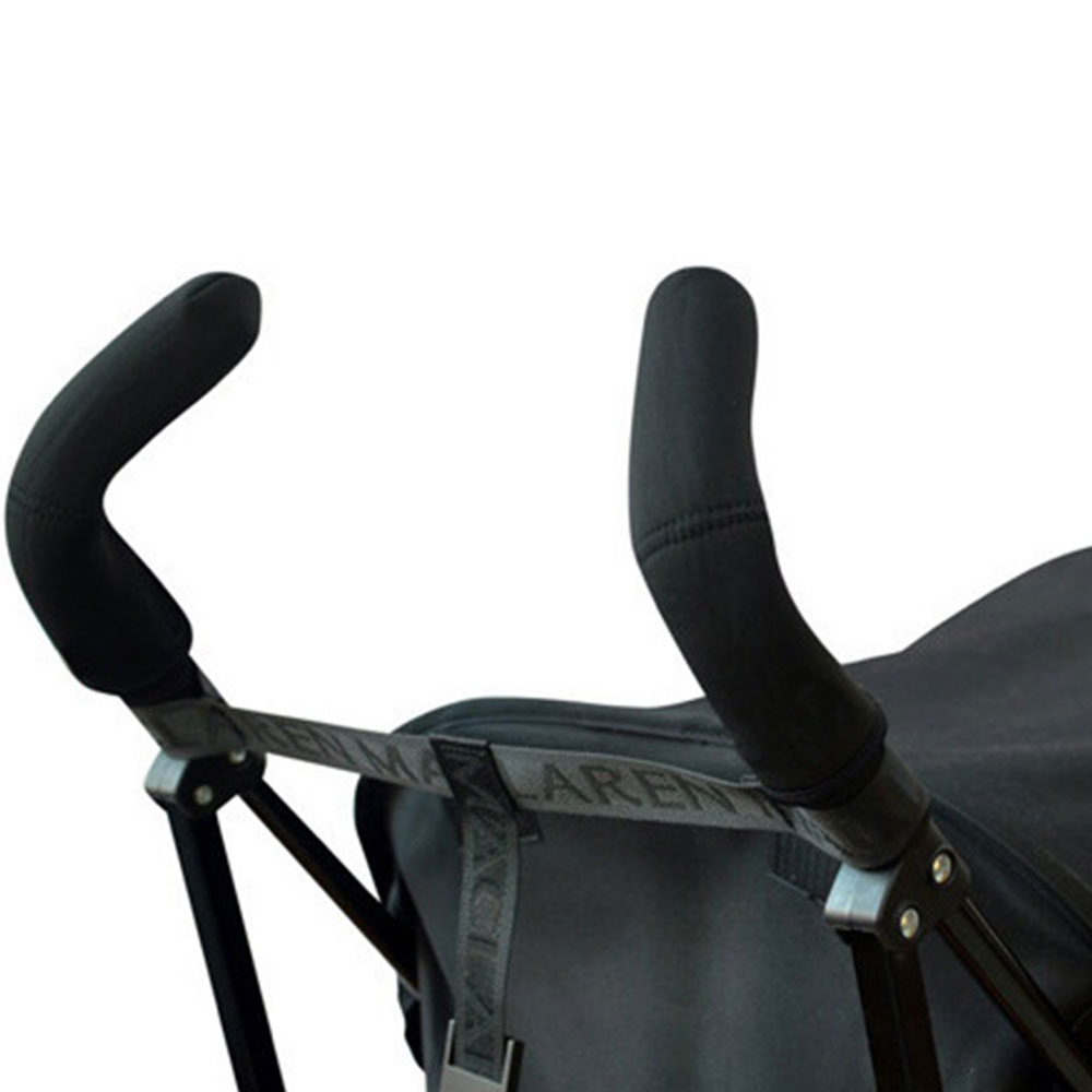 Чехол с ручками захват рукава подлокотника Черный пыле хлопок одежда для малышей Багги аксессуары для коляски для чехол для коляски