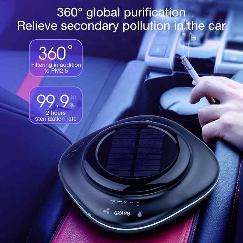 5 V нулевой излучения CY002 автомобиль солнечной Воздухоочистители дома Воздухоочистители мини увлажнитель ABS отрицательных ионов автомобильный кислородный бар автомобиль дома