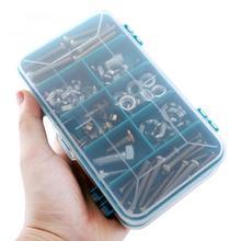 Практичный ящик для инструментов пластиковый 8 отделений портативный органайзер для хранения ящик для инструментов хранение оборудования/инструментов хранения