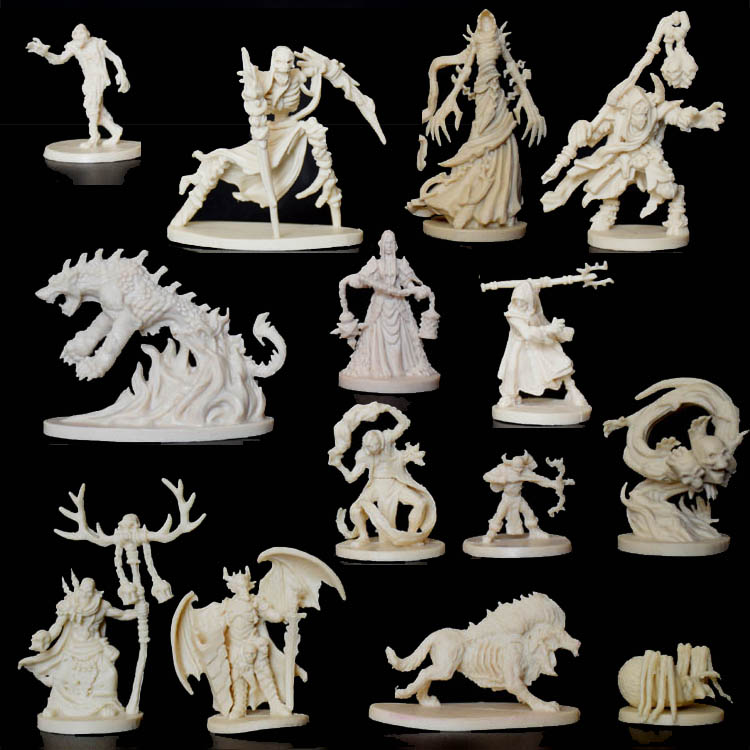 1/72 Scale Models Dragons And Dungeons DND Background Board Role-playing Games Resin Model Descent Thorough Jedi Free Shipping