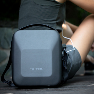 Image 5 - Водонепроницаемая портативная Наплечная Сумка PGYTECH из ПУ, коробка для хранения, сумка для DJI Mavic 2 Pro /Zoom Drone, чехол для переноски, аксессуары