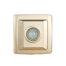 CHINT NEW2K Infrared Delay Sensor Switch Light Champagne Gold Sound And Control Free Shipping