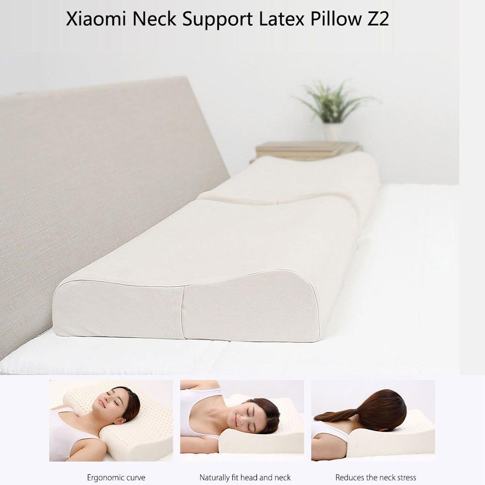 Original Xiaomi 8H Cool Feeling Slow Rebound Memory Foam Cotton Pillow Z2 Super Soft Antibacterial Neck Support Cushion