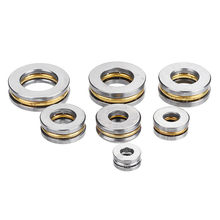 5pcs Flat Thrust Ball Bearing ID. 2.5/3/4/5/6/7/8mm Mini Miniature Bearings F25-6 F3-8 F4-10 Durable(China)