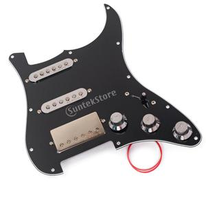 Image 3 - Loaded Prewired Pickguard SSH Alnico 5 Humbucker Pickups Plate Set for Electric Guitar Replacement Accessories Pick Guard