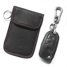 Car Key Signal Blocker Case, Faraday Bag Blocking Shield Case Anti-hacking Anti-thief Protector Pouch For Keys Keyles