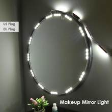 60 LED Bulb Vanity Makeup Mirror Lights P67 Dimmable Dresser Cosmetic Lamp Mirror Light Makeup Vanity Mirror Lights Lamp(China)
