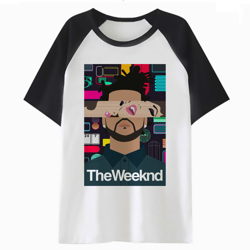 Xo The Weeknd T Shirt Streetwear Tee Top For Tshirt Men Male Funny Clothing Hop T-shirt Harajuku Hip I4475