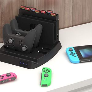 Image 5 - 充電表示任天堂スイッチ充電ドックとゲームホルダースイッチコンソール、喜び Con コントローラ、スイッチプロ C