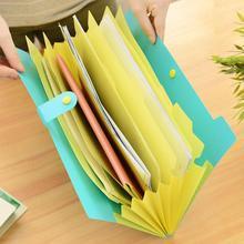 Adeeing расширяемый документы органайзер для файлов, папок 8-карман папки A4 Размеры кнопки r20