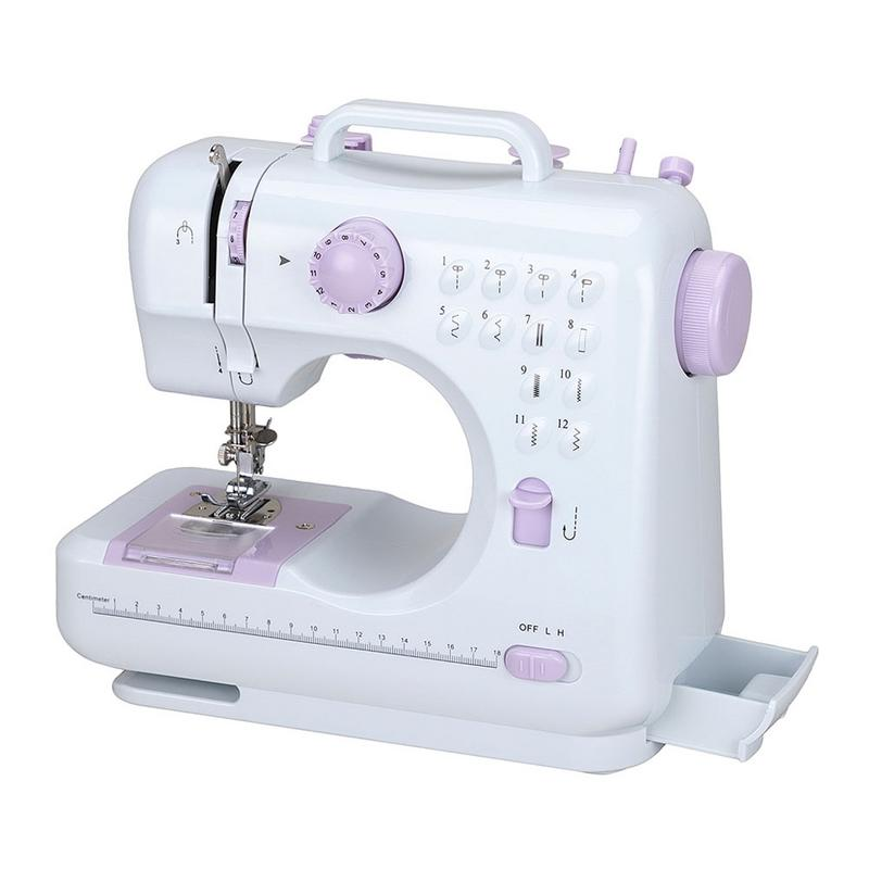 Household Sewing Machine 2019 New EU/UK/US Plug Electric Sewing 12 Stitch Version Electric Multi-Function Mini Sewing Device