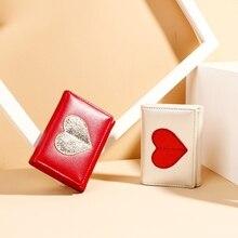 Buckle Leather Purse Simple Short Multi-Card Pocket Money Short Three-Fold Wallet Ladies цены