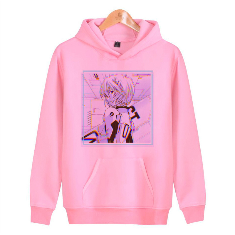 Neon Genesis Evangelion Night Hoodies Men Novelty Casual Hoodies Quality Drop Ship Tracksuits Brand Pullover Male N3176