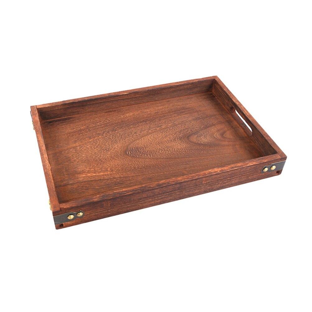Serving Tea Breakfast Wood Kitchen Platter PICK Wooden Serving Bed Tray