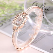 Brand Luxury Bracelet Watch Women Watches Rose Gold Women's Watches Diamond Ladies Watch Clock