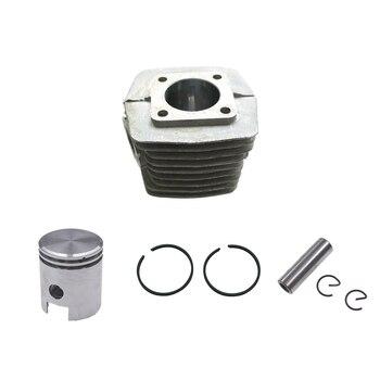 Kwadratowy Cylinder zestaw tłoka do regularnego 49cc 50cc motorower