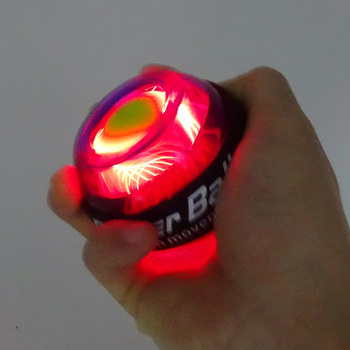 LED Wrist Ball Trainer Gyroscope Strengthener Gyro Power Ball  1