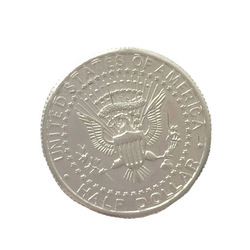 Bite Coin Close-Up Illusion & Restored Magic Out Half Quarter Magic Dollar Trick