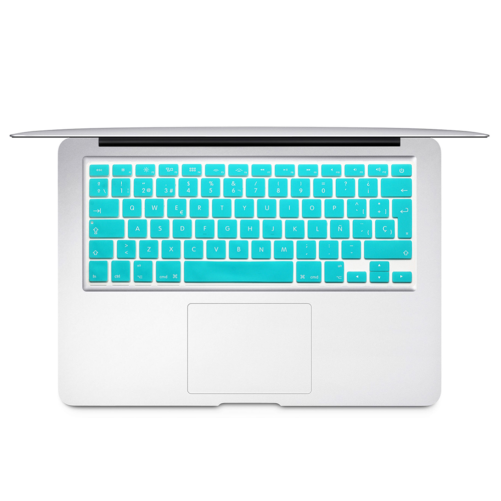 Spanish Chile EU Keyboard Protector Cover For Mac Book Air13 pro15 Retina  A1466 A1502 A1398 A1278 Skin Colorful keyboard film