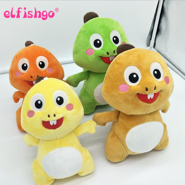Kawaii 20 cm VIPKID Stuffed Bebê Dino Dinossauro Originais Boneca boneca de brinquedo de pelúcia Boneca de Pelúcia Macia Bonito do aniversário dos miúdos do natal presente