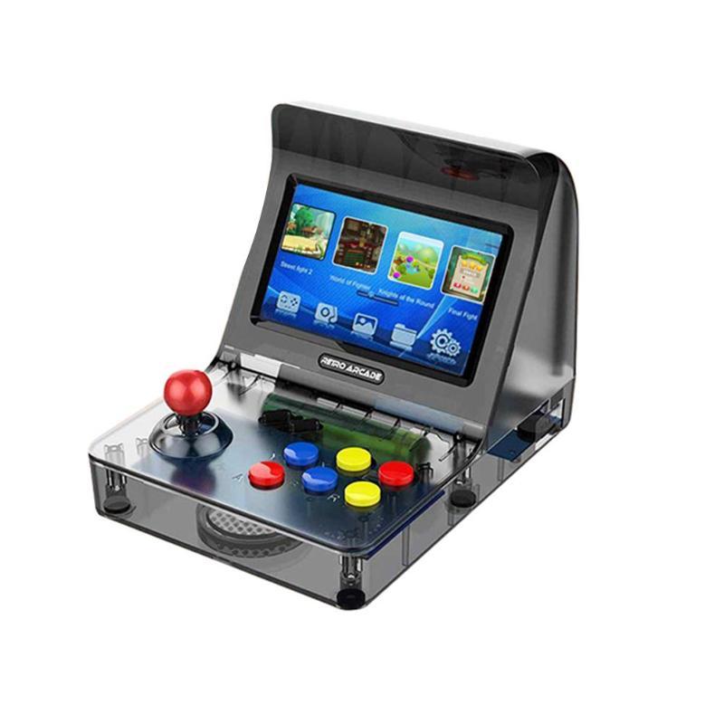 4.3 pouces rétro A8 16G Console de jeu joueur de jeu Machine intégrée 3000 jeux prend en charge jusqu'à 32G carte TF pour les petits jouets pour enfants