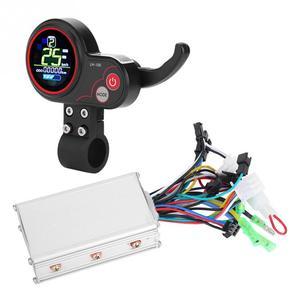 Image 1 - 24V 36V 48V 60V 250 W/350 W vélo électrique Scooter contrôleur LCD affichage panneau de commande avec commutateur de décalage e bike accessoire