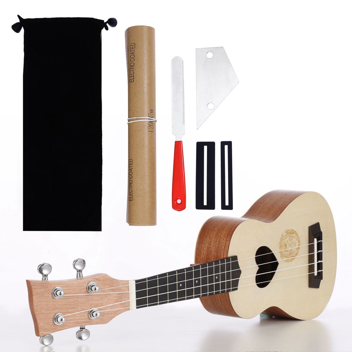 Reliable 1set Guitar Luthier Tool Guitar Fret Crowning Luthier File Fret Rocker Leveling Tool Fingerboard Guard Sanding Paper Accessories Can Be Repeatedly Remolded. Musical Instruments Stringed Instruments