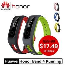 Huawei Honor Band 4 Беговая версия обуви-пряжка ударный фитнес-трекер версия Smart 50 м водонепроницаемый монитор сна
