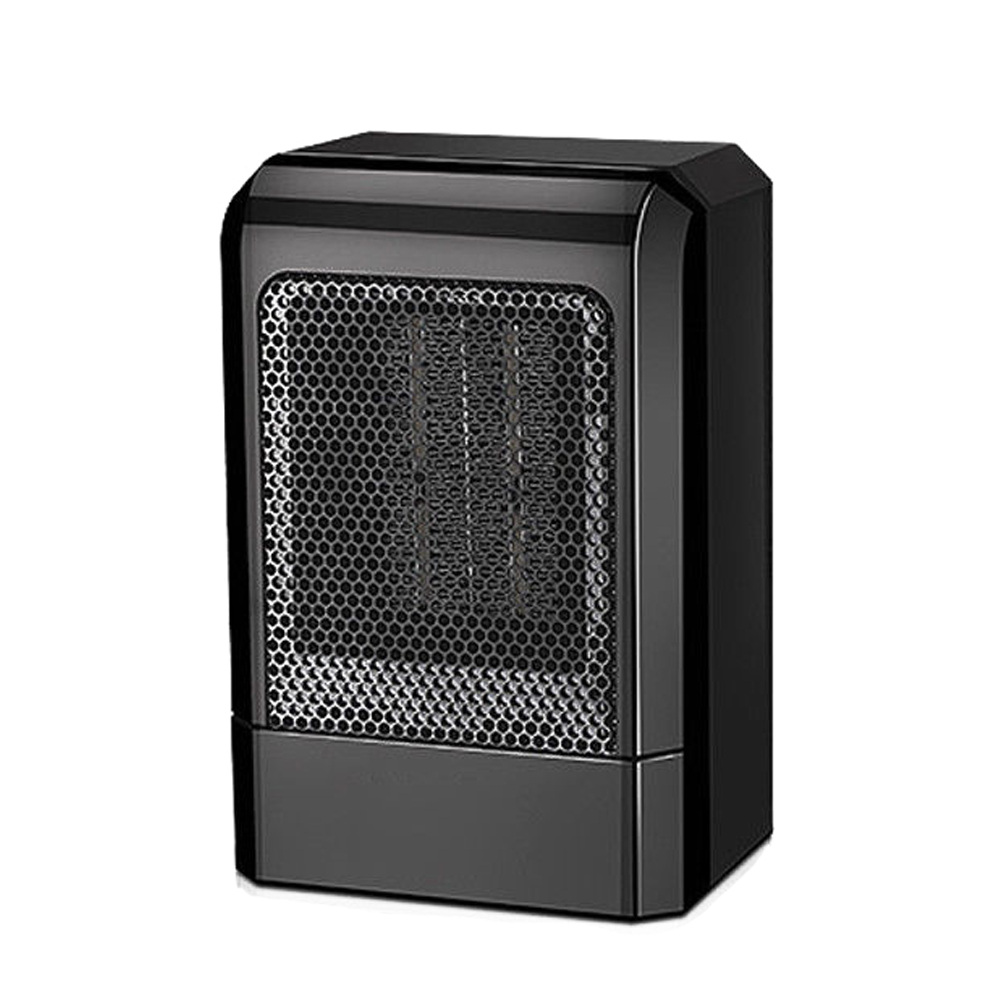 HOME-500W MINI Portable Ceramic Heater Electric Cooler Hot Fan Home Winter Warmer(US Plug)