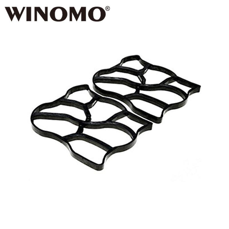 Winomo 60*50cm Plastic Diy Path Maker Mold Manually Paving Cement Brick Molds For Garden Decor Nourishing The Kidneys Relieving Rheumatism Garden Supplies
