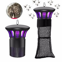 New 220V Agricultural Mosquito Killer Lamp 15W Photocatalyst Inhalant Mosquitos Trap UV Lamps Outdoor Pest Control Bug Zapper