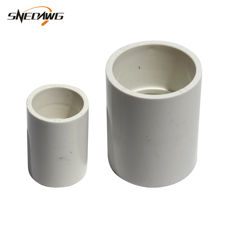 US $1 75 35% OFF|2pcs UPVC Pipe Fittings 20/25/32/40/50/63mm ID Water Pipe  Joint 1/2'' 3/4'' 1'' 2''Water Connectors DIY Tool Plastic Pipe Joints-in