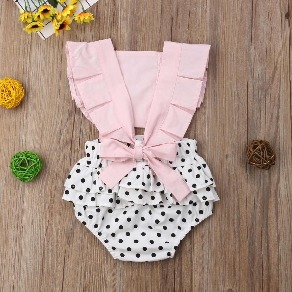Одежда для новорожденных девочек; кружевной комбинезон без спины; одежда для малышей